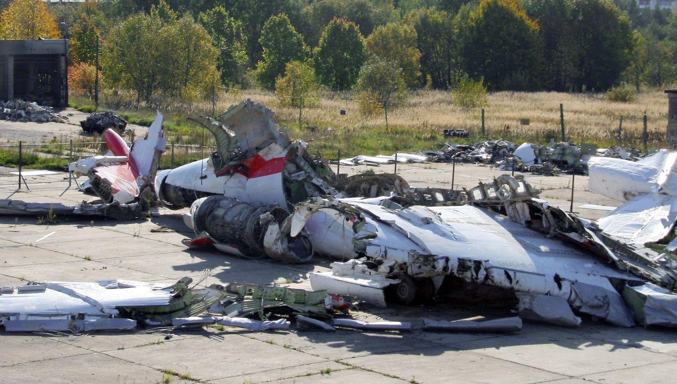 The wreckage of the Polish presidential plane. Photo: PAP/ITAR-TASS/Olga Lisinova