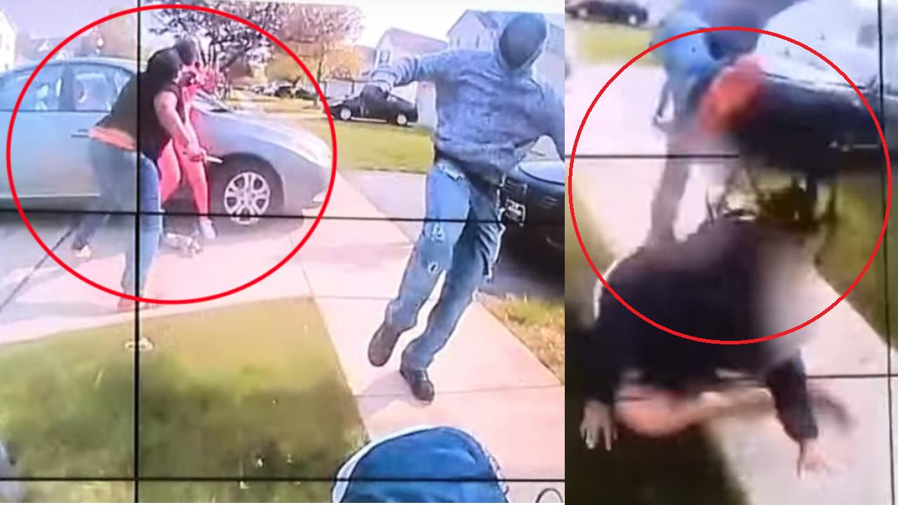 USA. Nagranie z kamery policjanta wiele wyjaśnia (fot. Columbus Police)