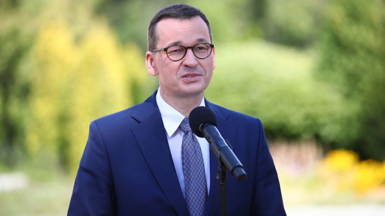 Premier Mateusz Morawiecki (fot. PAP/Łukasz Gągulski)