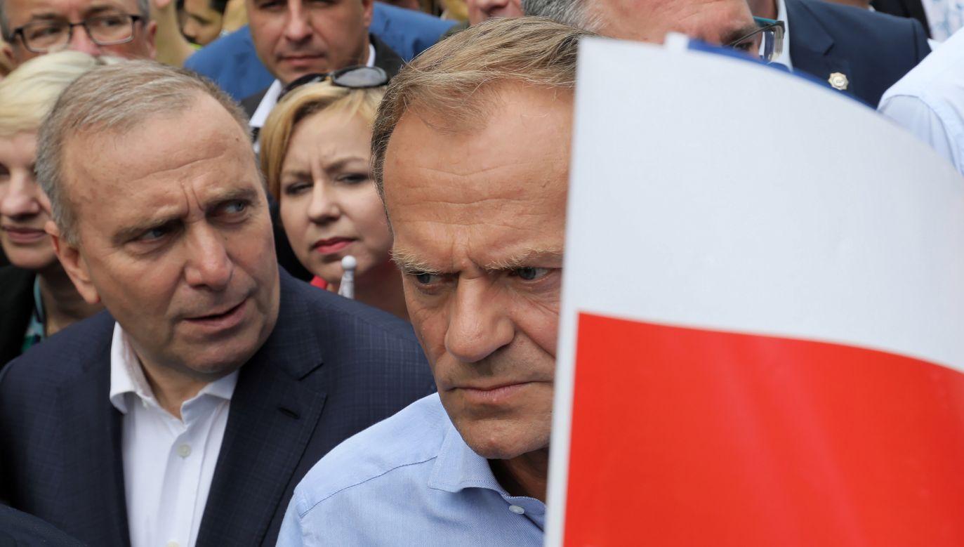 Grzegorz Schetyna wspomniał, że o poparciu Donalda Tuska dla powołania komisji śledczej dot. afery hazardowej dowiedział się z mediów (fot. arch. PAP/Paweł Supernak)