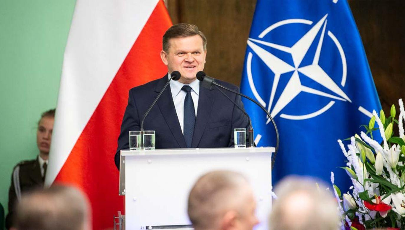 Wojciech Skurkiewicz jest zakażony koronawirusem (fot. MON)