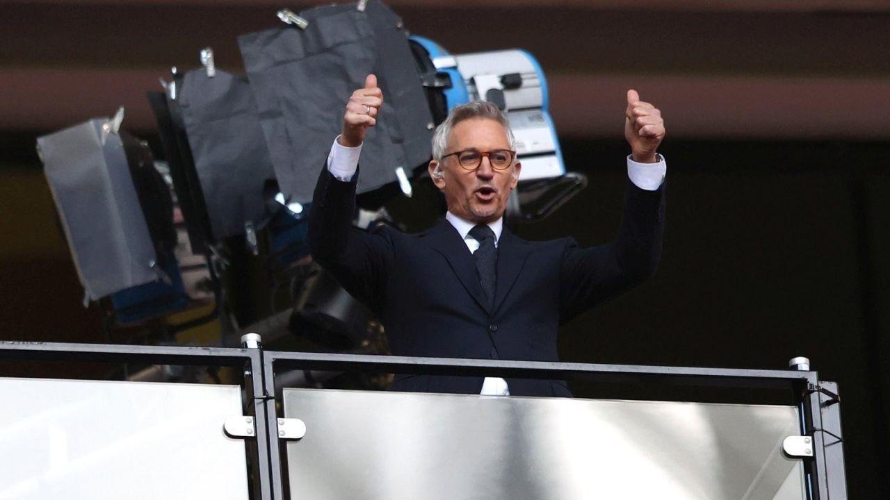 Gary Lineker w dzień finału Euro 2020 napisał otwarty list do reprezentacji Anglii (fot. Getty Images)