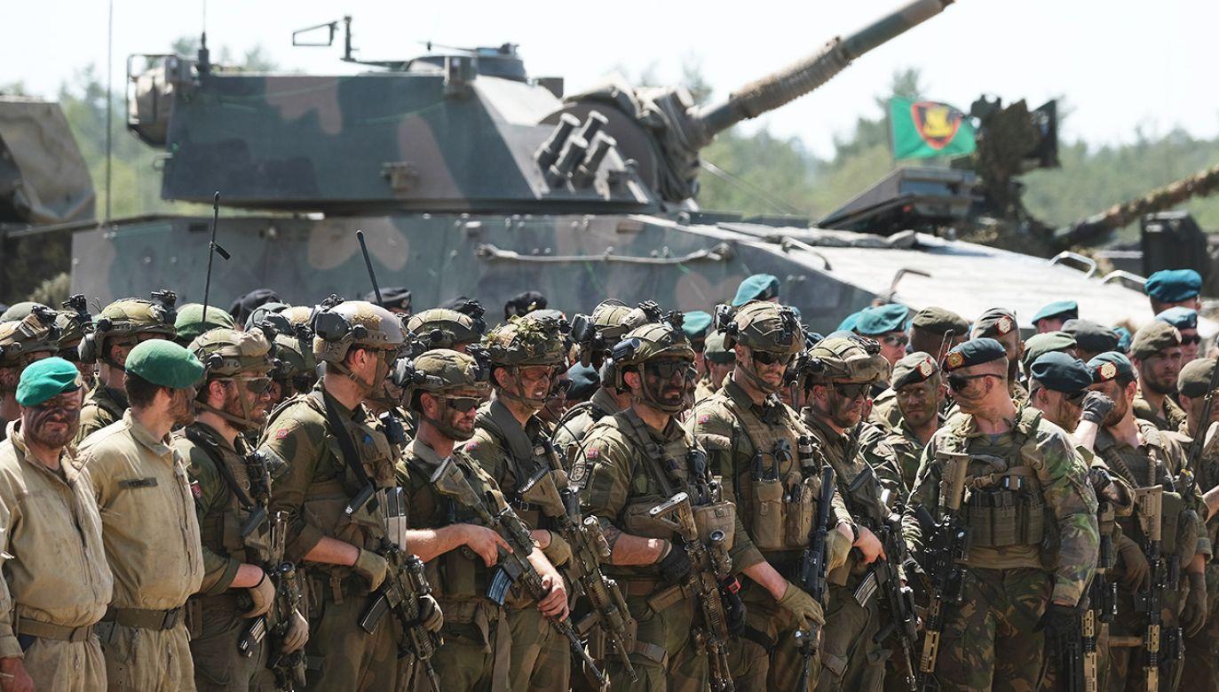 Spotkanie w Londynie zostało zorganizowane z okazji 70-lecia istnienia NATO (fot. Sean Gallup/Getty Images)