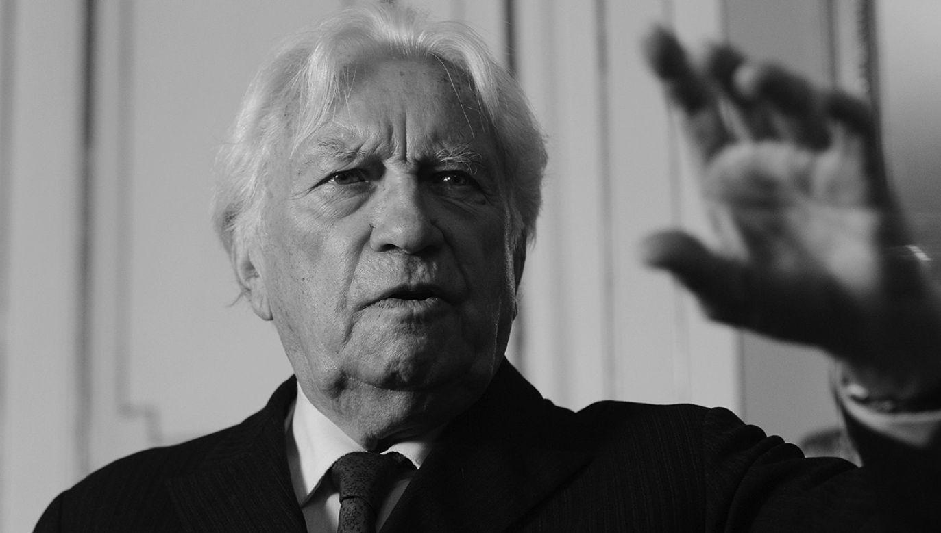 Zmarł Ryszard Bacciarelli (fot. PAP/ Andrzej Rybczyński)