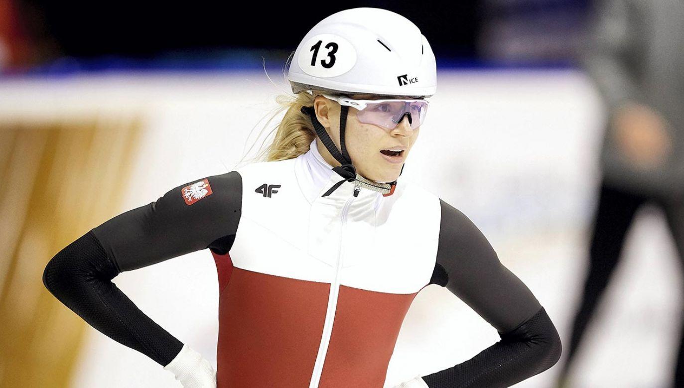 Natalia Maliszewska zwyciężczynią Pucharu Świata w short tracku na dystansie 500 m (fot. PAP/Adam Warżawa)