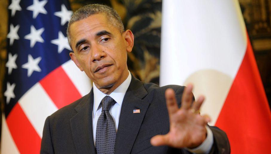 Prezydent USA Barack Obama (fot. PAP/Bartłomiej Zborowski)