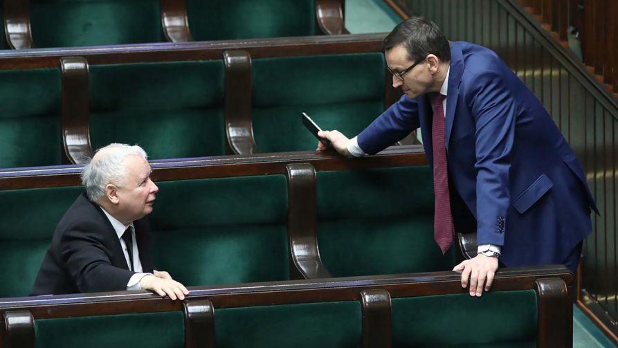 Obecność w rządzie lidera Zjednoczonej Prawicy zdecydowanie podniesie mobilizację członków rządu i załagodzi rysujące się konflikty personalne (fot. PAP/Leszek Szymański)