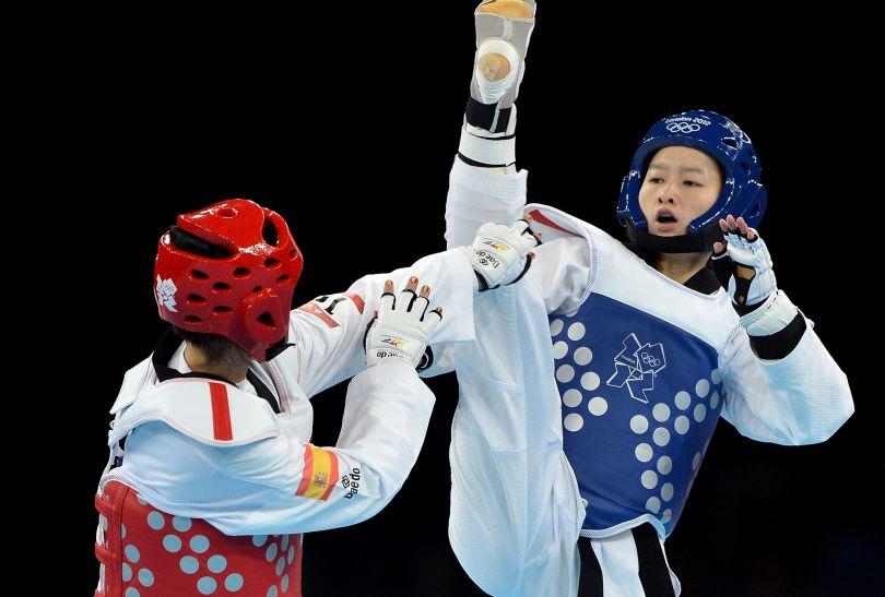 Złoty medal w kategorii 49 kg kobiet zdobyła Chinka Jingyu Wu (fot. Getty Images)