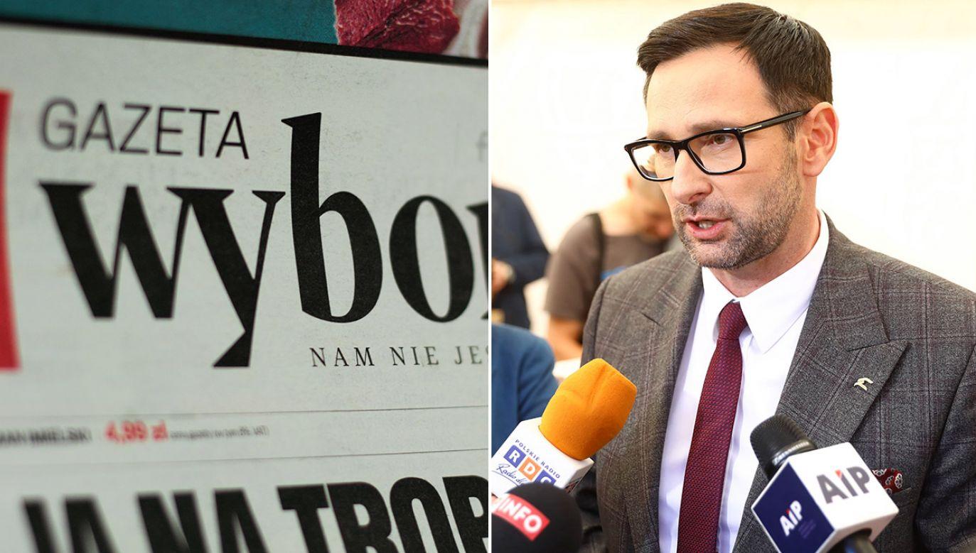 Daniel Obajtek wydał oświadczenie (fot. Shutterstock/Anna Gawlik, arch.PAP/Rafał Guz