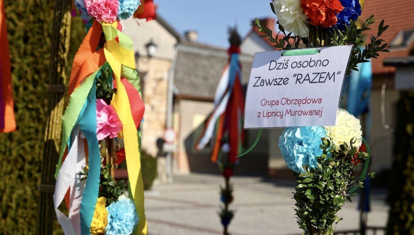 Transmisje nabożeństw Świąt Wielkanocnych będą dostępne na antenach Telewizji Polskiej i portalu tvp.info (fot. PAP/Łukasz Gągulski)