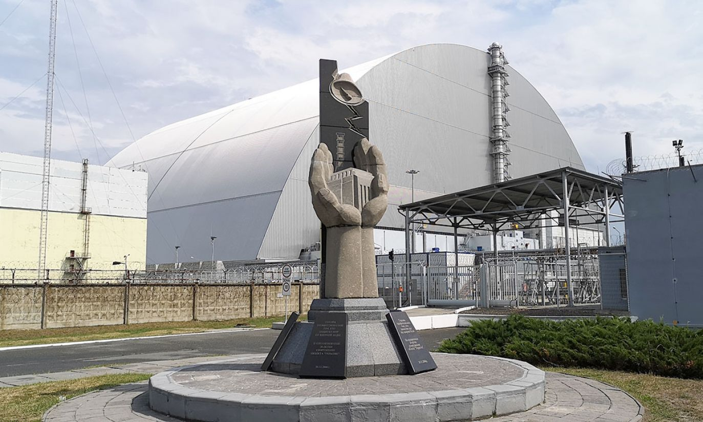 Sarkofag reaktor nr 4 (fot. Radosław Poszwiński)
