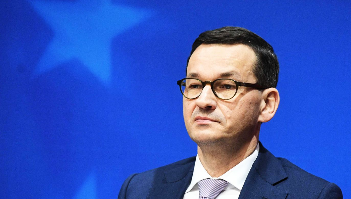 Premier Mateusz Morawiecki o projekcie nowelizacji  (fot. PAP/Radek Pietruszka)