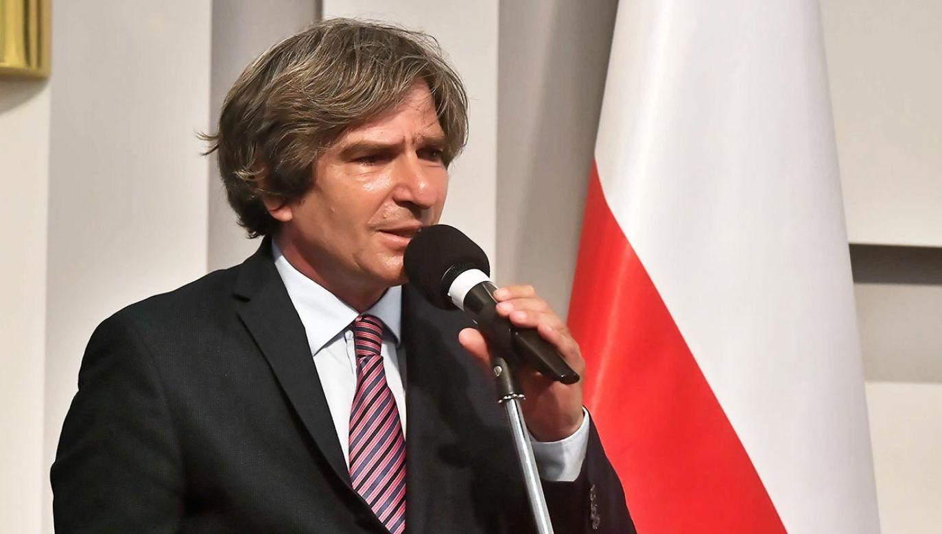 Krzysztof Skowroński (fot. PAP/Andrzej Lange)