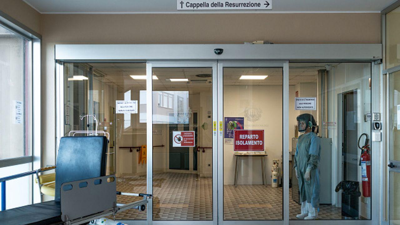 Szpital w San Marino (fot. Getty Images)