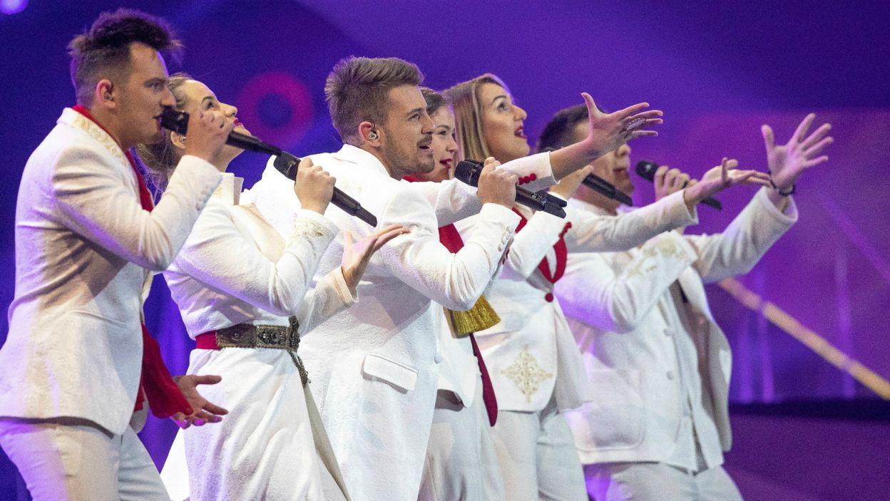 Czarnogórcy wystartowali w konkursie z grupą wokalną D mol, jednak nie udało im się dostać do ścisłej czołówki (fot. Andres Putting/EBU)