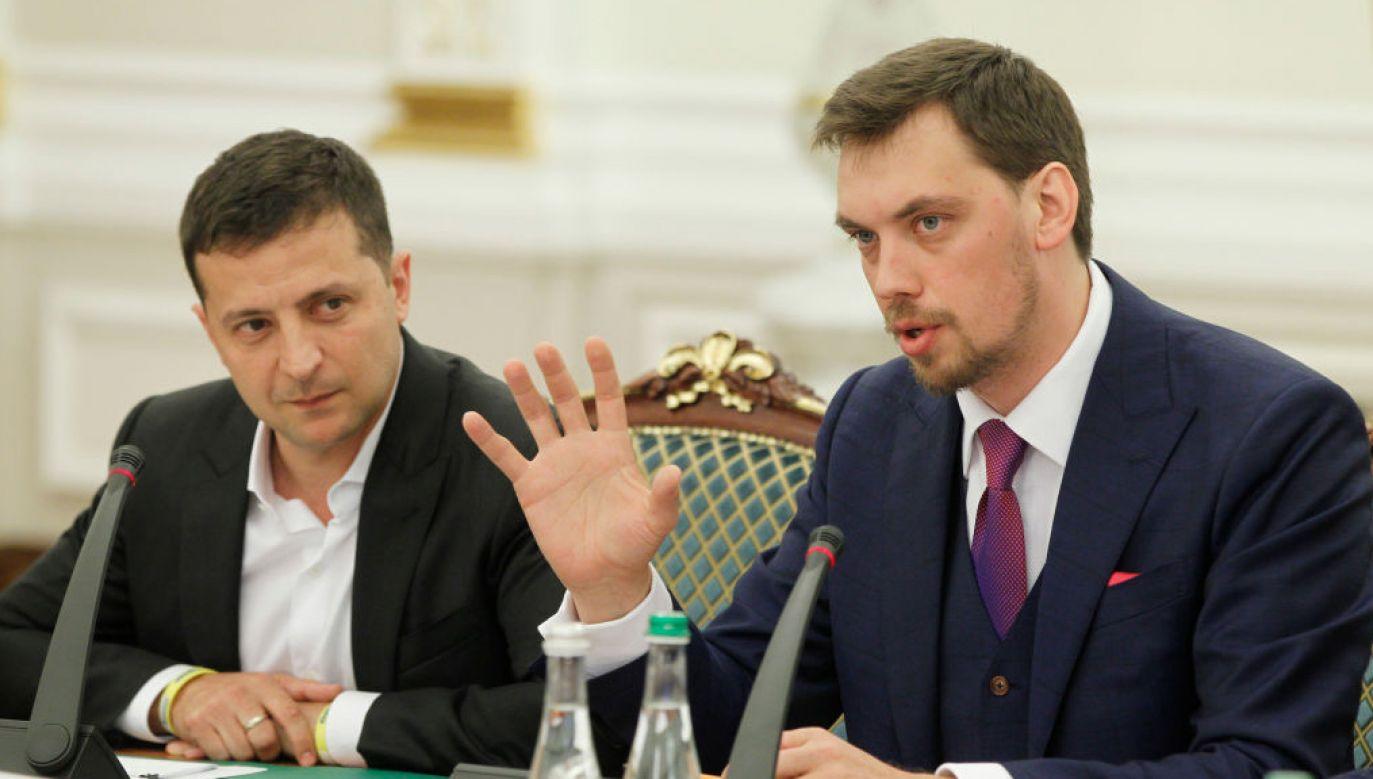 Premier Ukrainy przekazał, że strona ukraińska rozpoczęła już rozmowy w tej sprawie (fot. STR/NurPhoto via Getty Images)