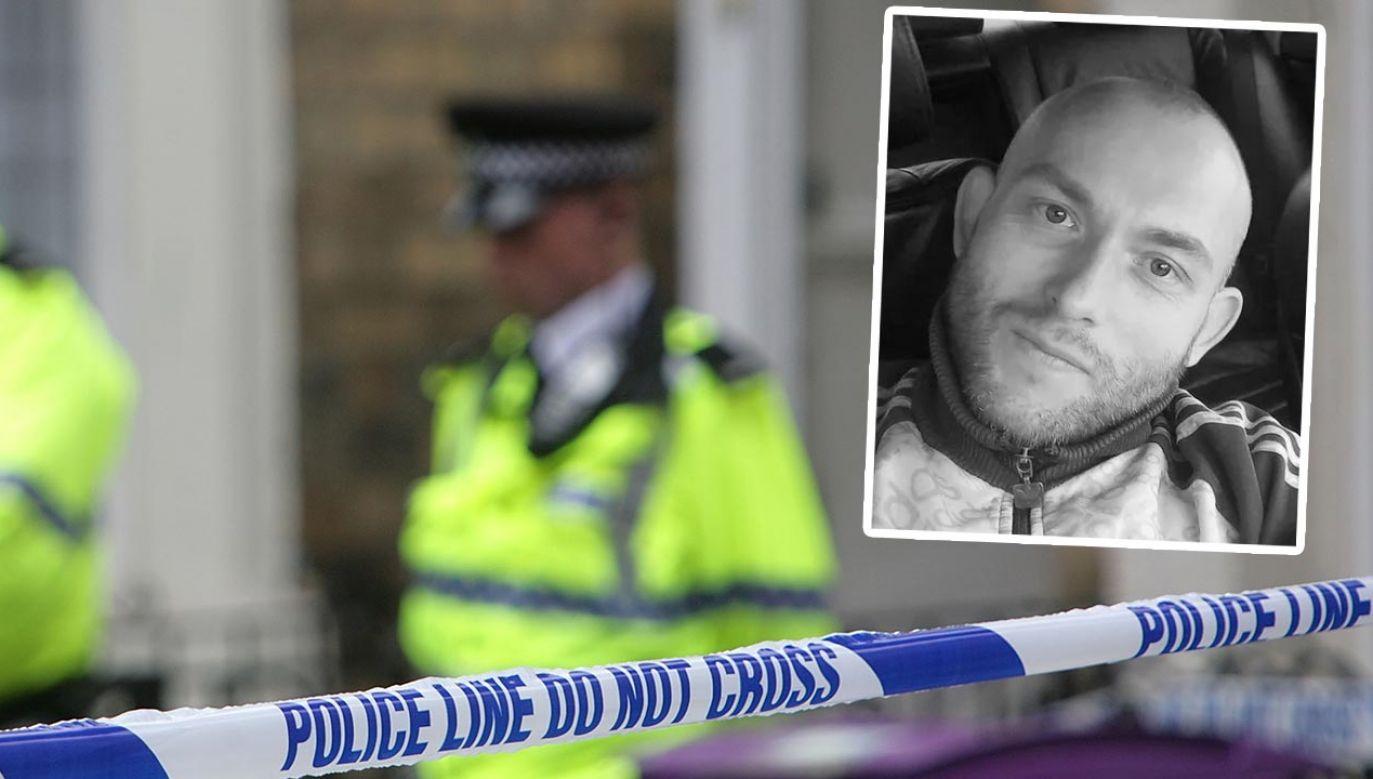 Pan Tomasz od 20 lat mieszkał w Wielkiej Brytanii (fot. Christopher Furlong/Getty Images; Facebook/Cleveland Police)
