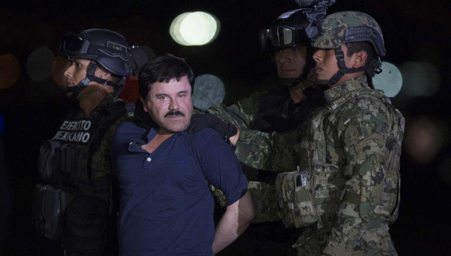 """Przez lata najważniejszym bossem w Meksyku był Joaquin """"El Chapo"""" Guzman (fot. Miguel Tovar/LatinContent/Getty Images)"""