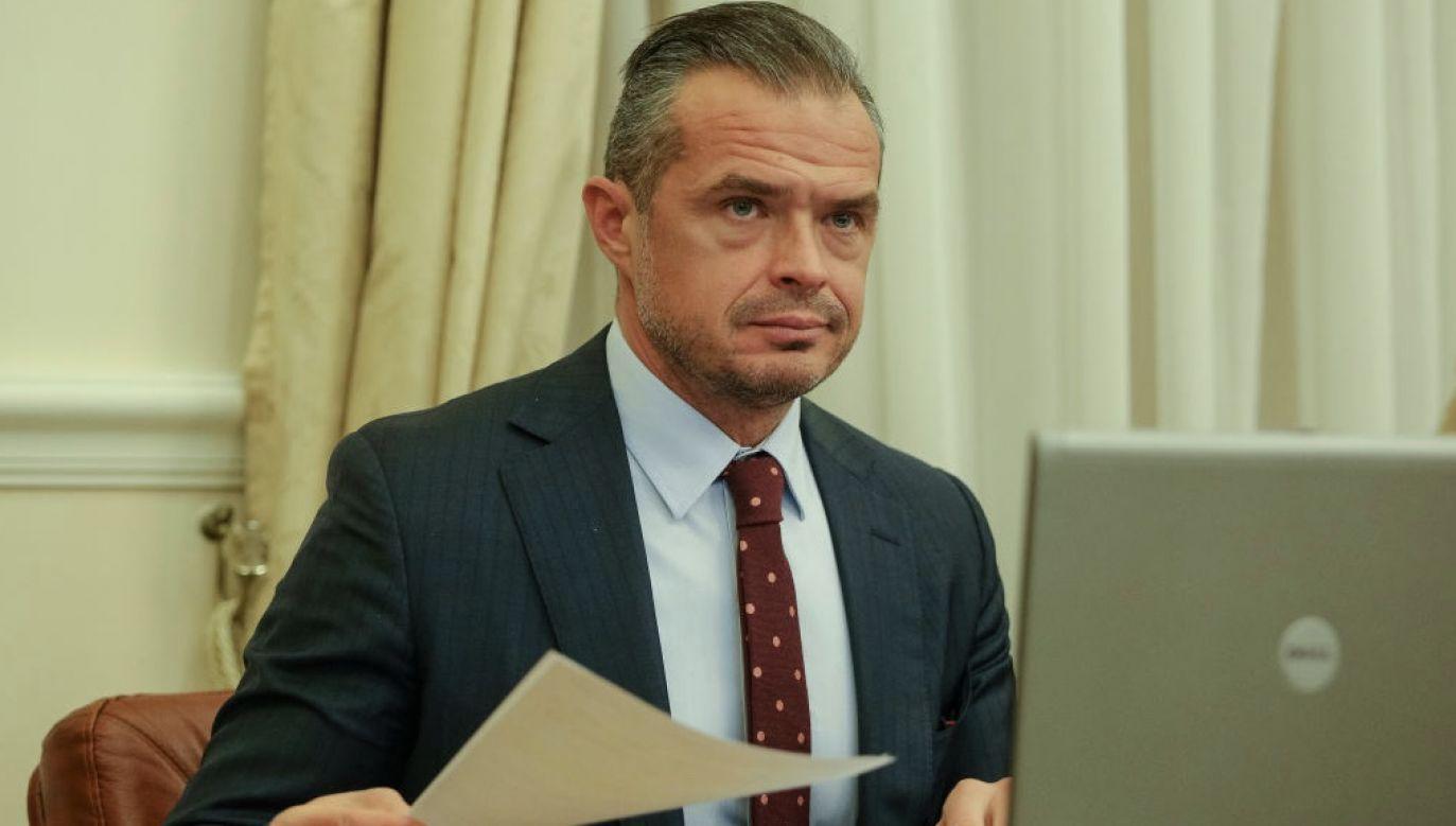 Byłemu ministrowi grozi więzienie (fot. Sergii Kharchenko/NurPhoto via Getty Images)