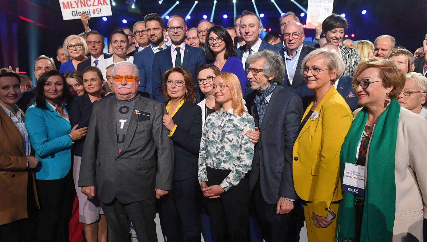 Koalicję Obywatelską, która uzyskała drugi wynik w wyborach parlamentarnych i ma 134 mandaty, tworzą Platforma Obywatelska, Nowoczesna, Inicjatywa Polska i Zieloni (fot. PAP/Radek Pietruszka)