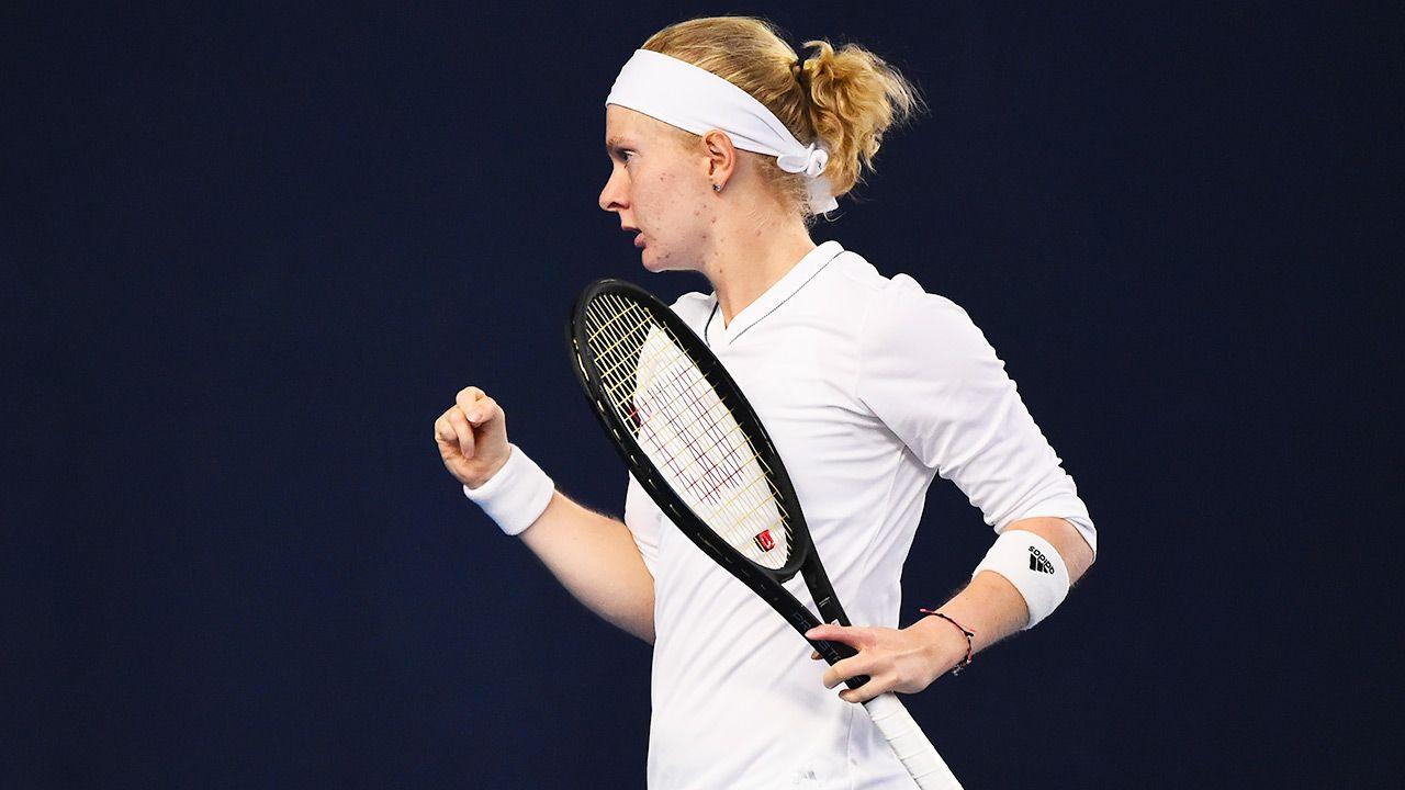 Lekarze nie dawali jej najmniejszych szans na uprawianie sportu (fot. Tom Dulat/Getty Images for LTA)