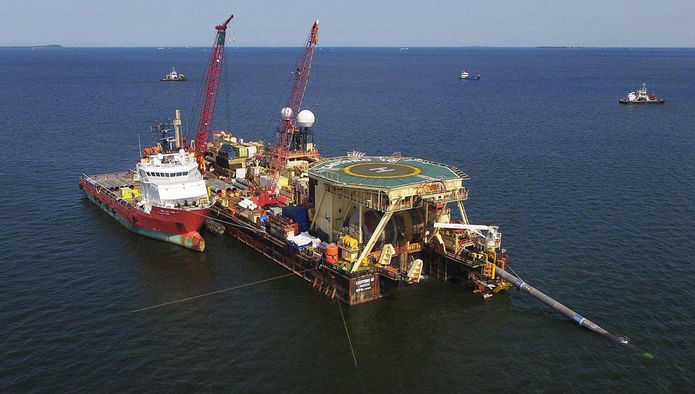 Rosjanie prawdopodobnie nie będą w stanie sami dokończyć gazociągu. Choć szef Gazpromu zapewnia, że to nieprawda (fot. Sean Gallup/Getty Images)
