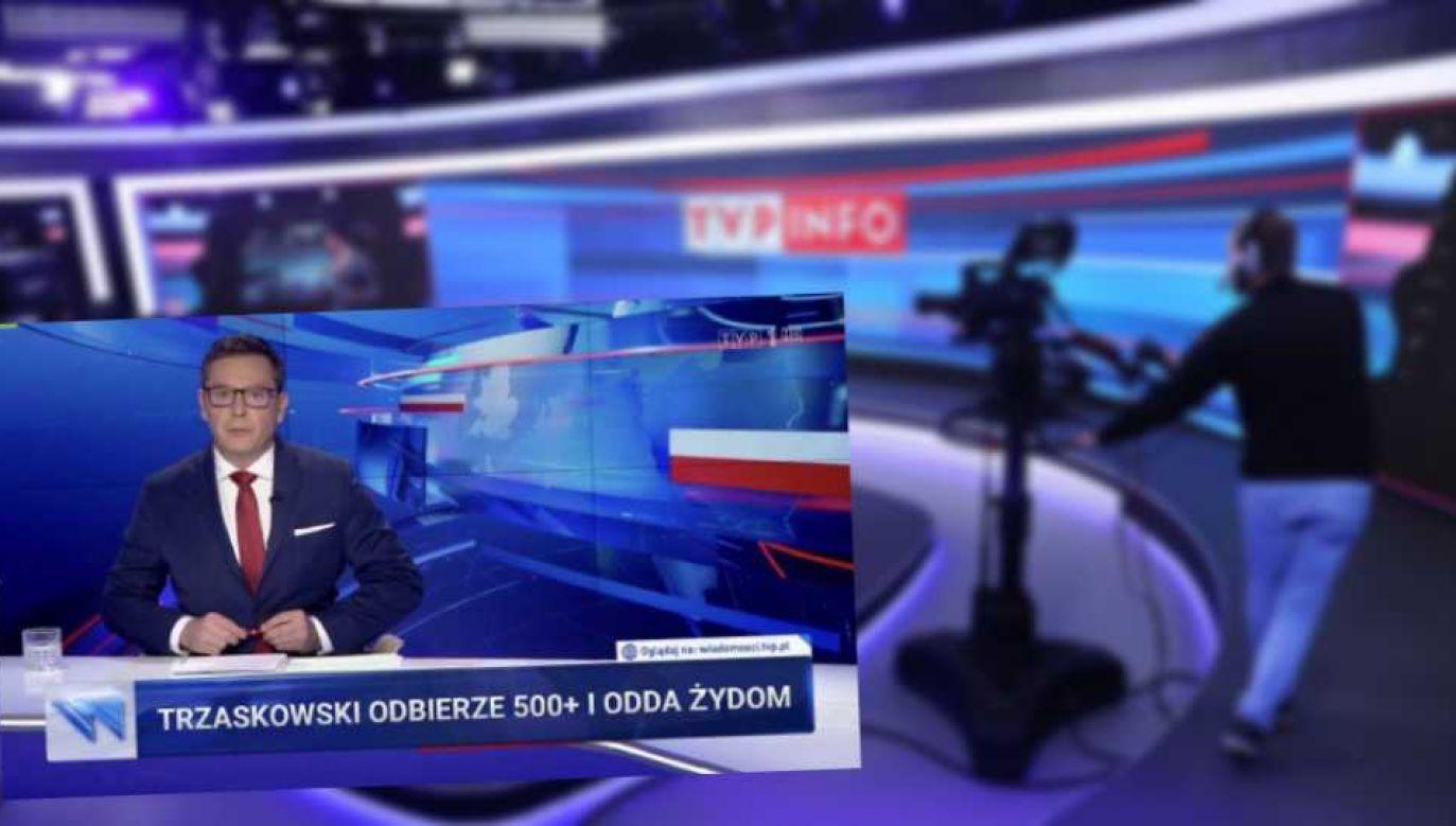 TVP została zaatakowana fake newsem (fot. TVP Info/TT)