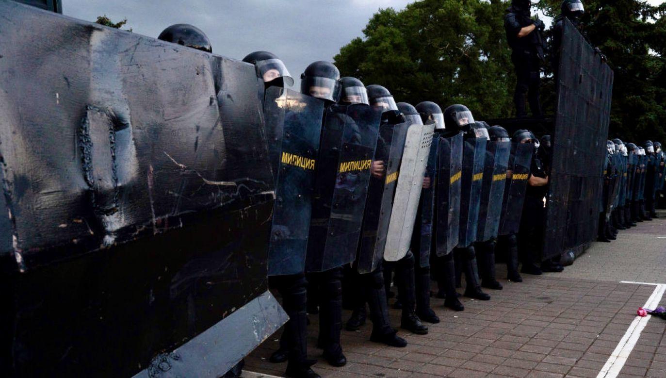 Ukarano osoby, którepopierały protesty po ostatnich wyborach prezydenckich (fot. Jonny Pickup/Getty Images)