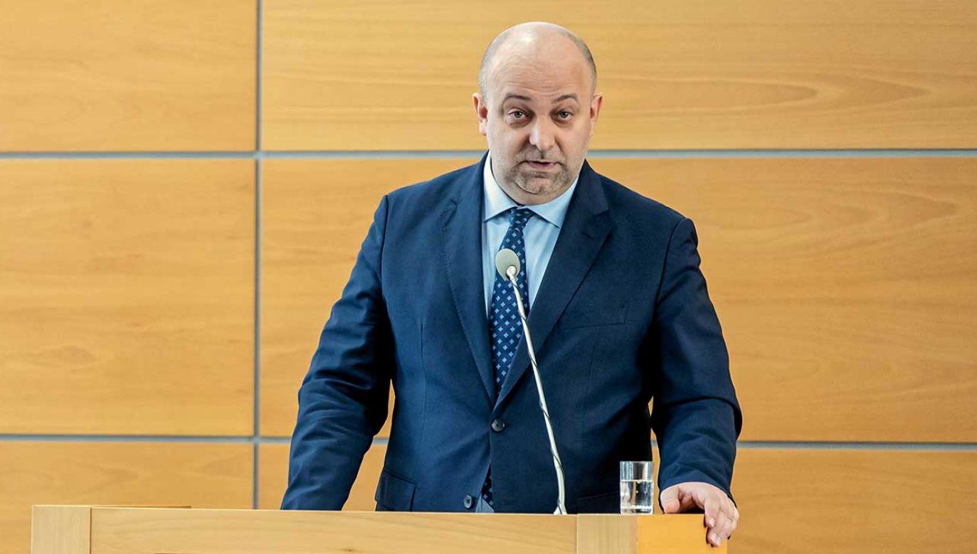 Chodzi o doniesienia medialne ws. kontaktów z kobietą prowadzącą akcję dyskredytującą sędziów (fot. arch. PAP/Tytus Żmijewski)