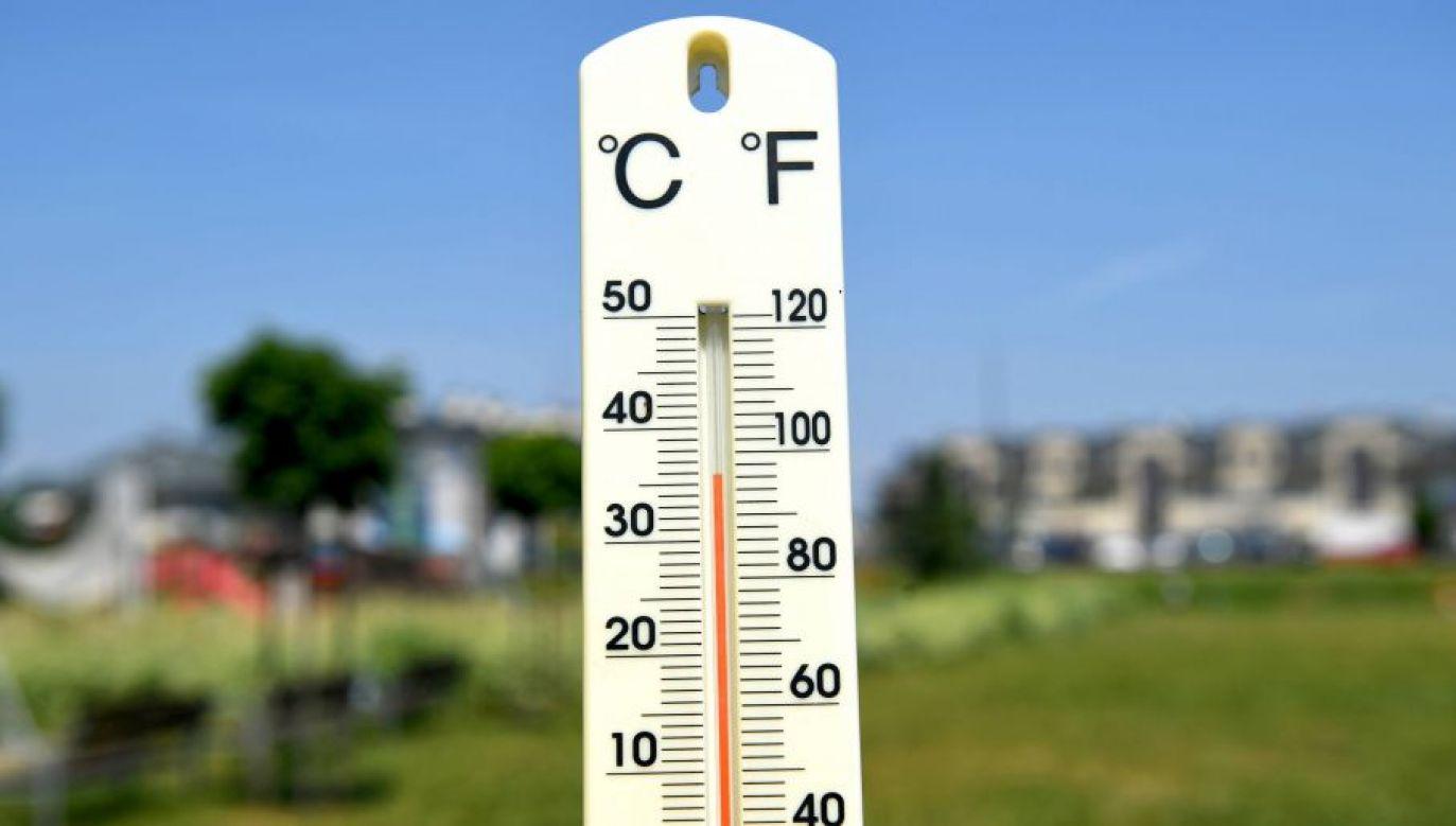 Temperatura maksymalna w niedzielę w Polsce to 33 stopnie Celsjusza (fot. arch. PAP/Darek Delmanowicz)