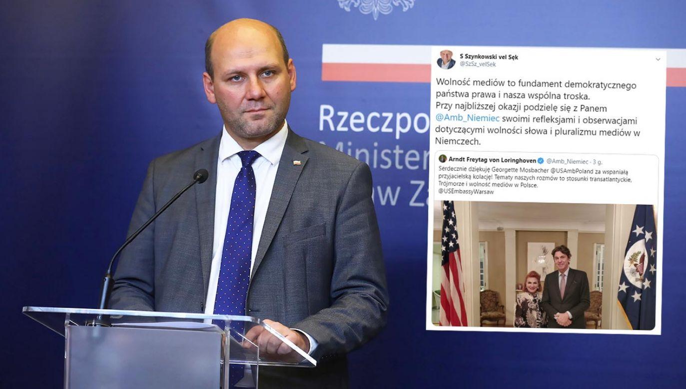 To fundament demokratycznego państwa i nasza wspólna troska – wskazał sekretarz stanu (fot. PAP/Rafał Guz)