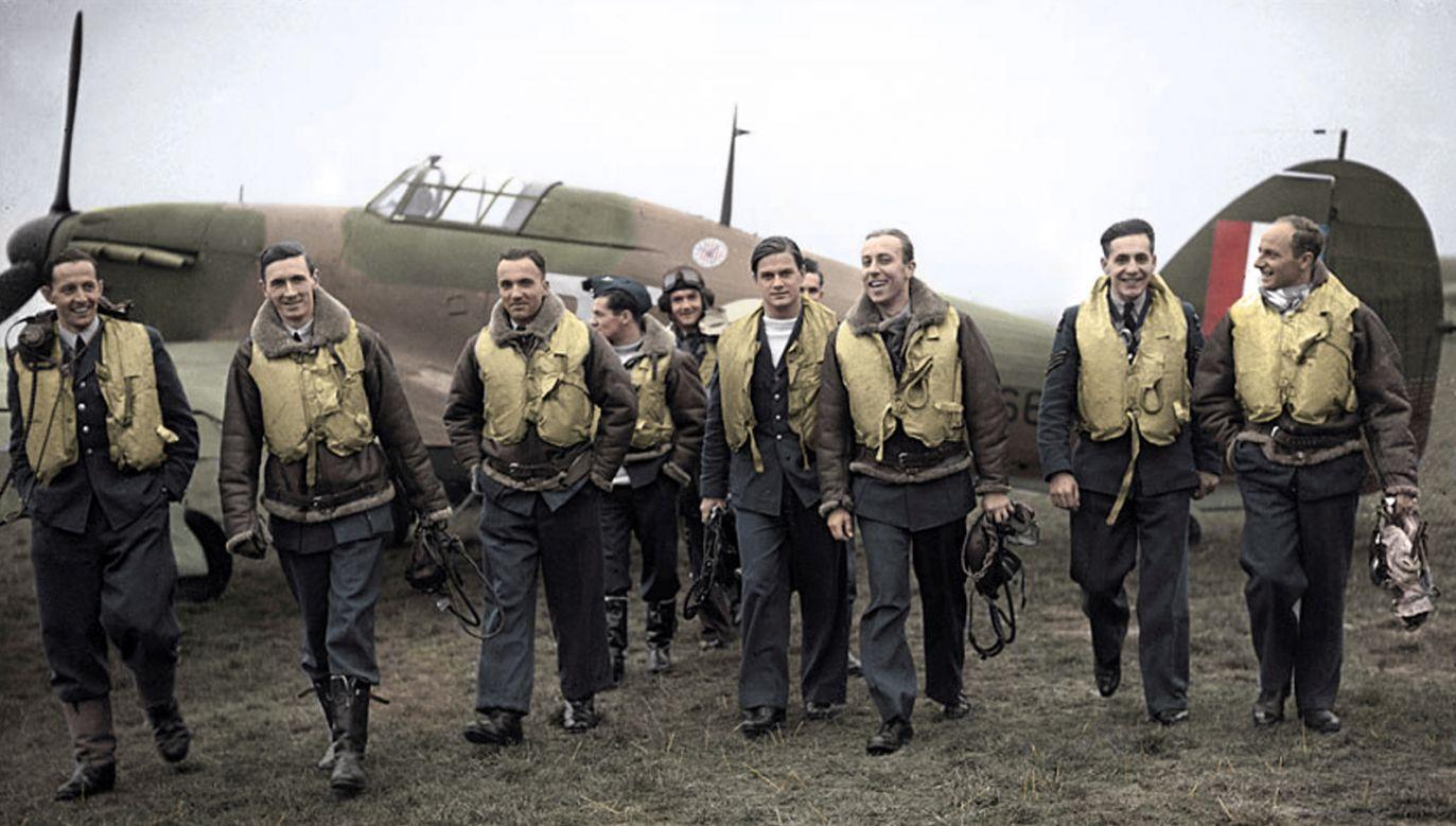 British Royal Air Force's WWII-era Polish Squadron 303. Photo: Wikimedia Commons