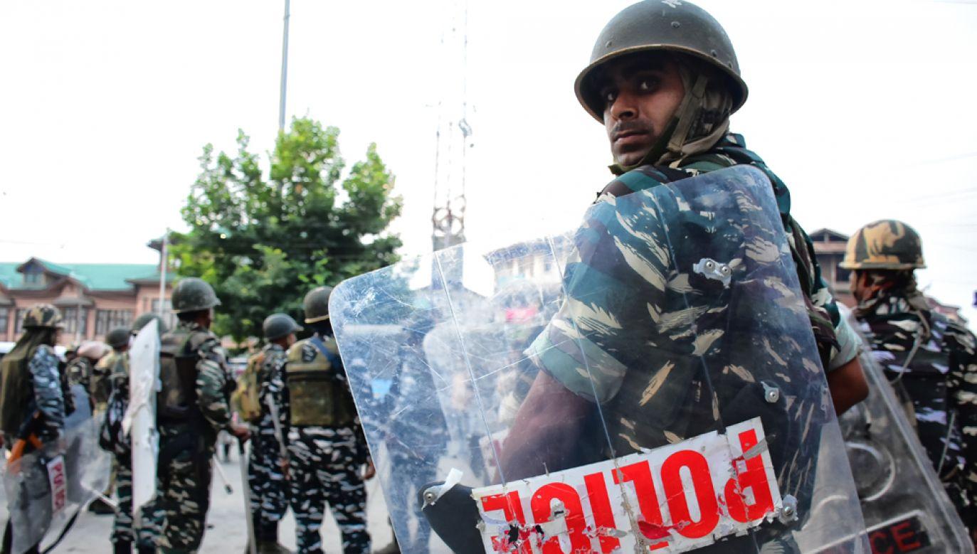 Indie unieważniły artykuł konstytucji, zapewniający specjalny status stanu Dżammu i Kaszmir, co formalnie zintegrowało indyjską część Kaszmiru z resztą państwa(fot. Muzamil Mattoo/NurPhoto via Getty Images)