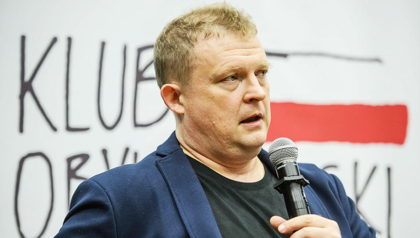 Tomasz Piątek przegrał proces przed sądem (fot. arch.PAP/Wojciech Pacewicz)