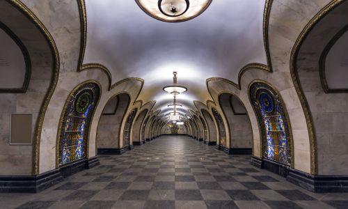 Stacja Nowosłobodskaja. Fot. Wikimedia Commons/ Alex 'Florstein' Fedorov, CC BY-SA 4.0, https://commons.wikimedia.org/w/index.php?curid=46392339