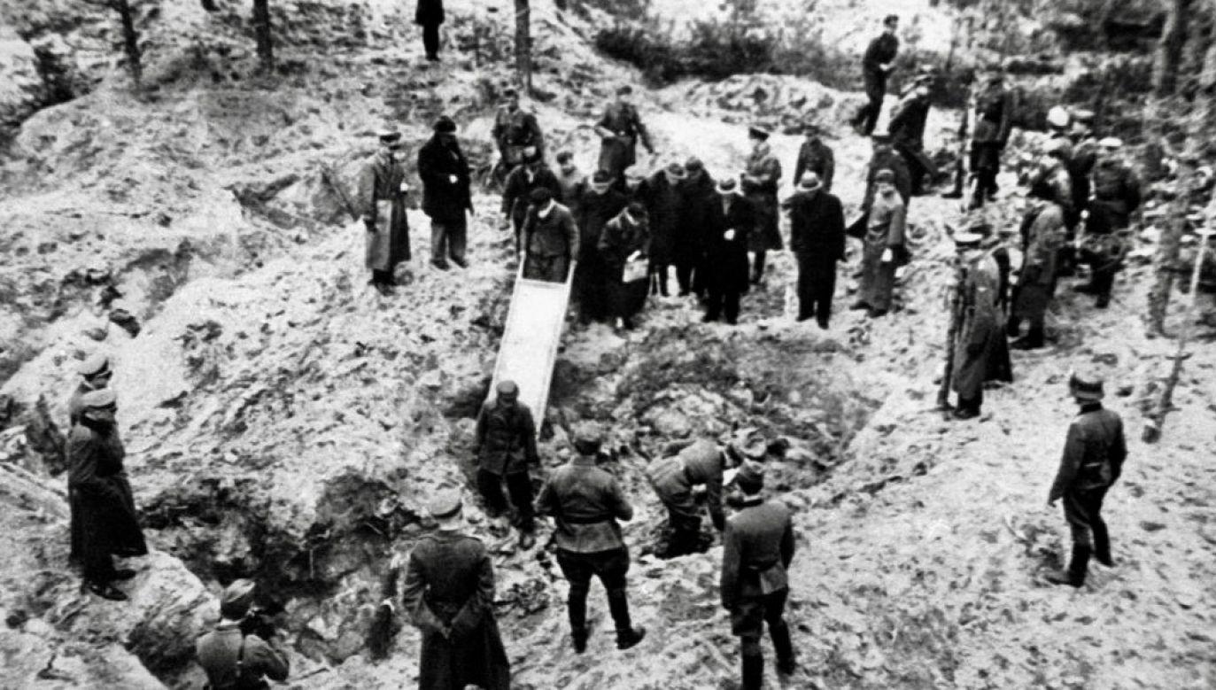 Zbrodnia katyńska jest w mniejszym lub większym stopniu znana niemal wszystkim Polakom (fot. KOK-LOCHON/Gamma-Rapho via Getty Images)