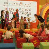"""Jednym z elementów programu  """"Witamy w Przedszkolu""""  jest pasowanie na przedszkolaka (fot. TVP)"""
