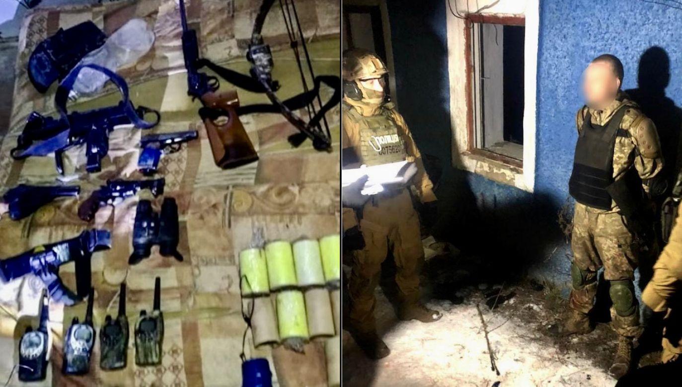 Napastnikowi grozi dożywocie (fot. policja ukraińska)