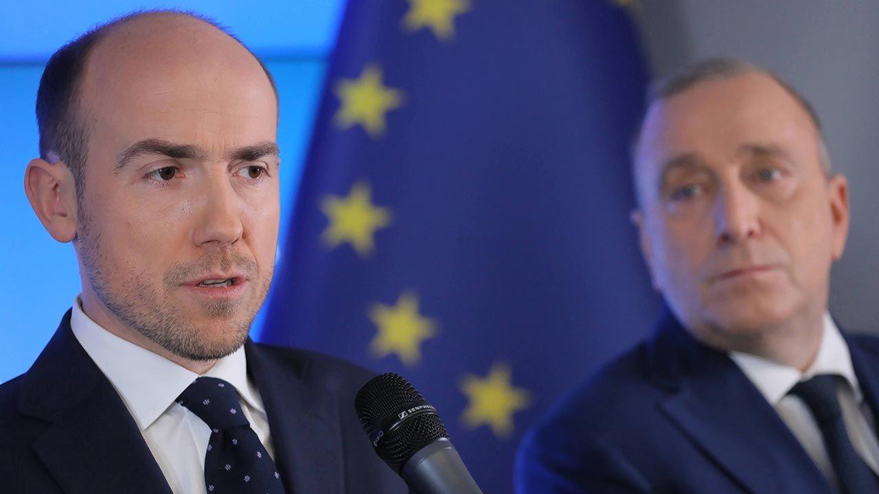 Obecny i były szef Platformy Obywatelskiej. Kto będzie następny? (fot. PAP/Paweł Supernak)