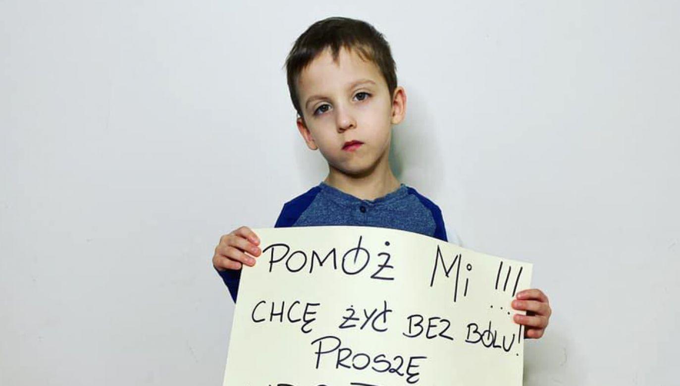 Każdy może pomóc małemu Leonowi (fot. F/LEONFREJ)