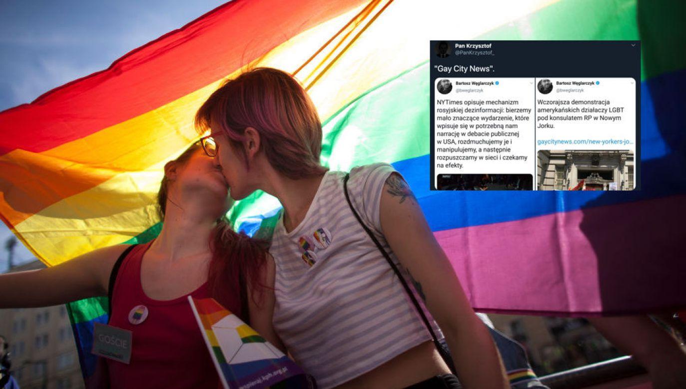 LGBT. Parada Równości w Warszawie (fot. Maciej Luczniewski/ NurPhoto via Getty Images)