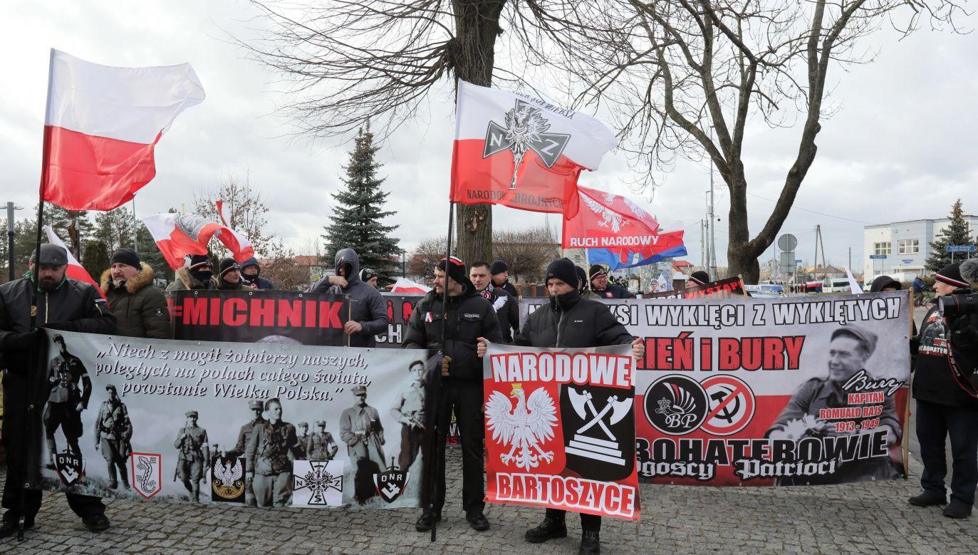 """""""Chcemy wyklętych na lekcjach historii!"""" (fot.PAP/Artur Reszko)"""