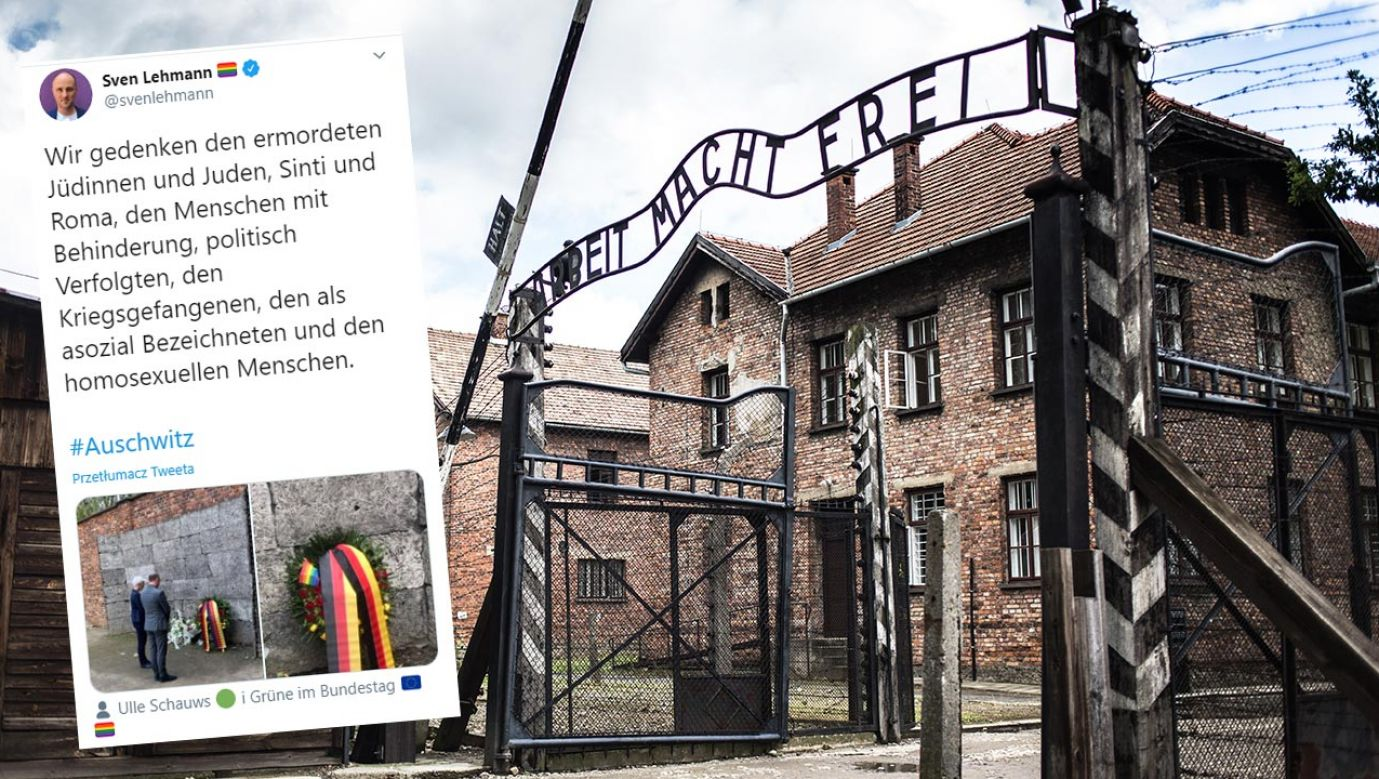 Polityk zamieścił zdjęcie wiązanki ze wstęgami w barwach flag Niemiec i  LGBT (fot.Shutterstock/BONDART PHOTOGRAPHY)