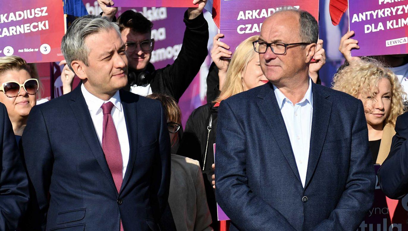 Nowe doniesienia ws. zmian w Lewicy (fot. arch.PAP/Marcin Bielecki)