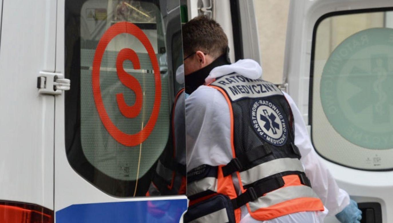 Instruktorami są czynni ratownicy medyczni (fot.  Artur Widak/NurPhoto via Getty Images, zdjęcie ilustracyjne)