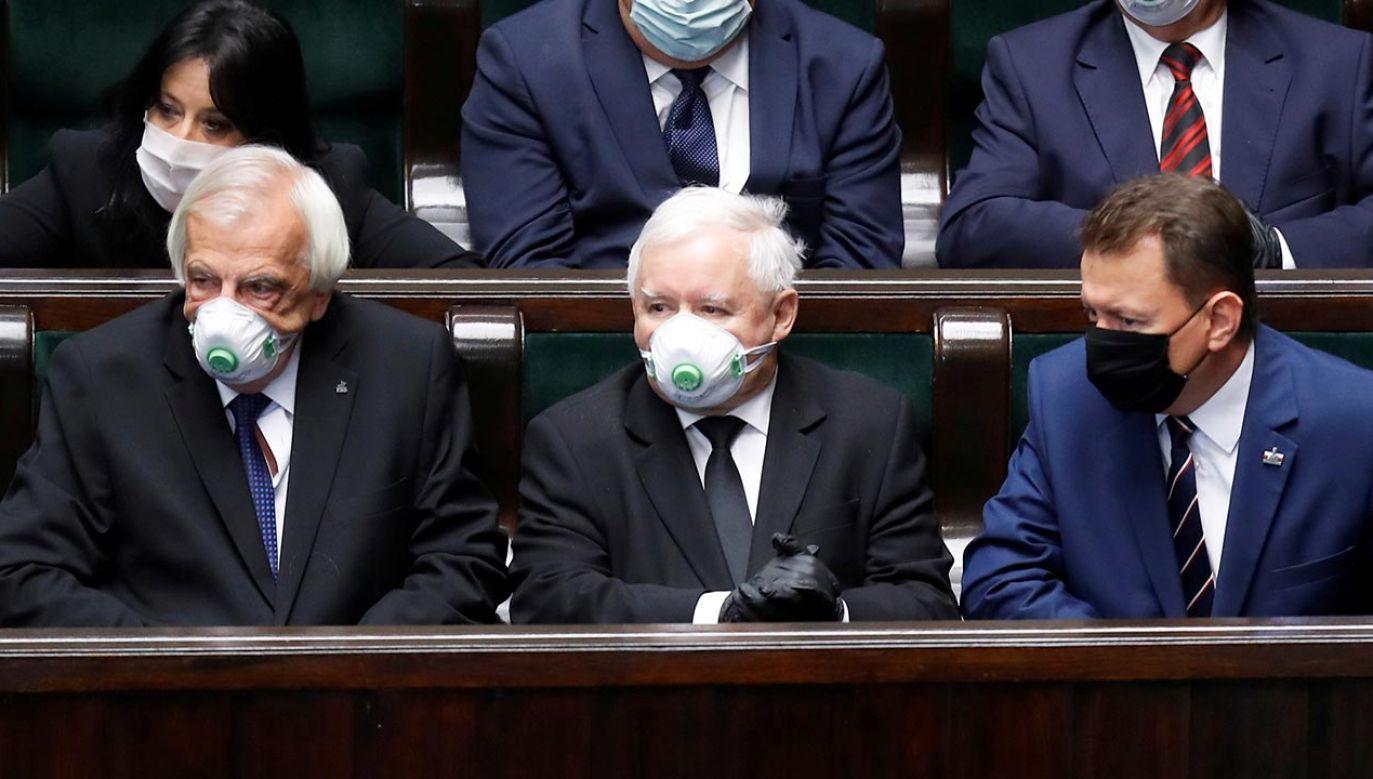 Jak wyglądałby rozkład mandatów w Sejmie? (fot. REUTERS/Kacper Pempel)