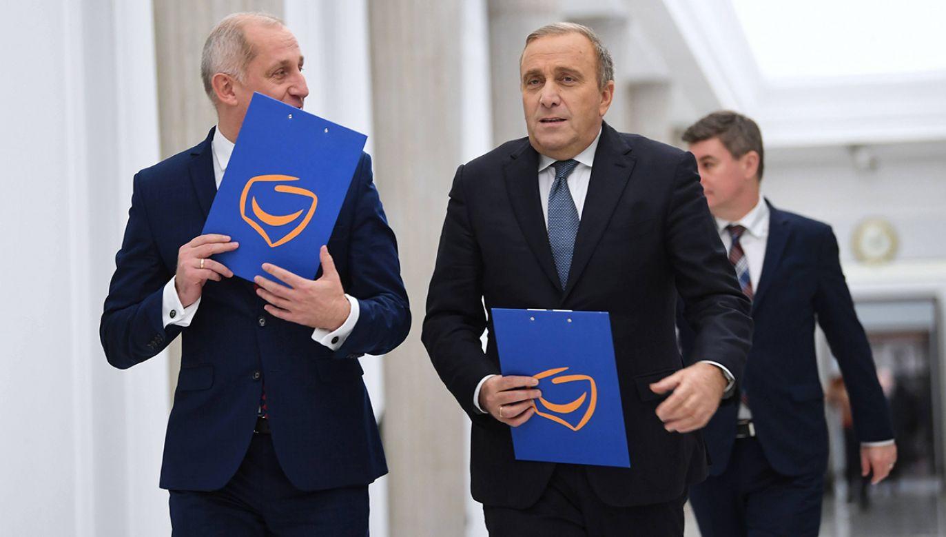 Minister Marek Suski o aferach Platformy (fot. arch.  PAP/Bartłomiej Zborowski)