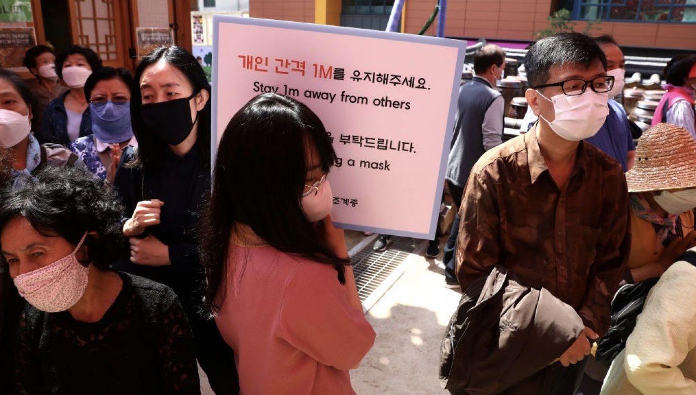W ciągu doby wykryto 38 przypadków (fot. Chung Sung-Jun/Getty Images)
