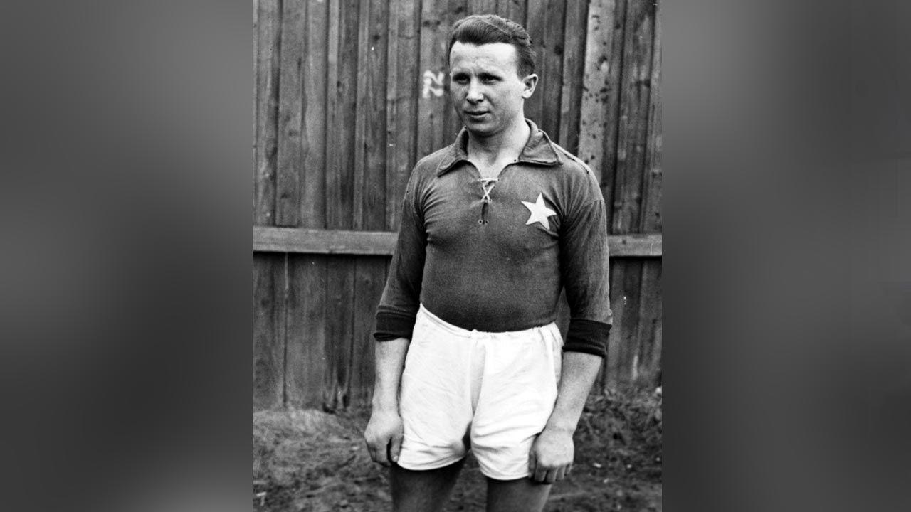 Antoni Łyko związany był z Wisłą Kraków; zginął w Auschwitz (fot. NAC)