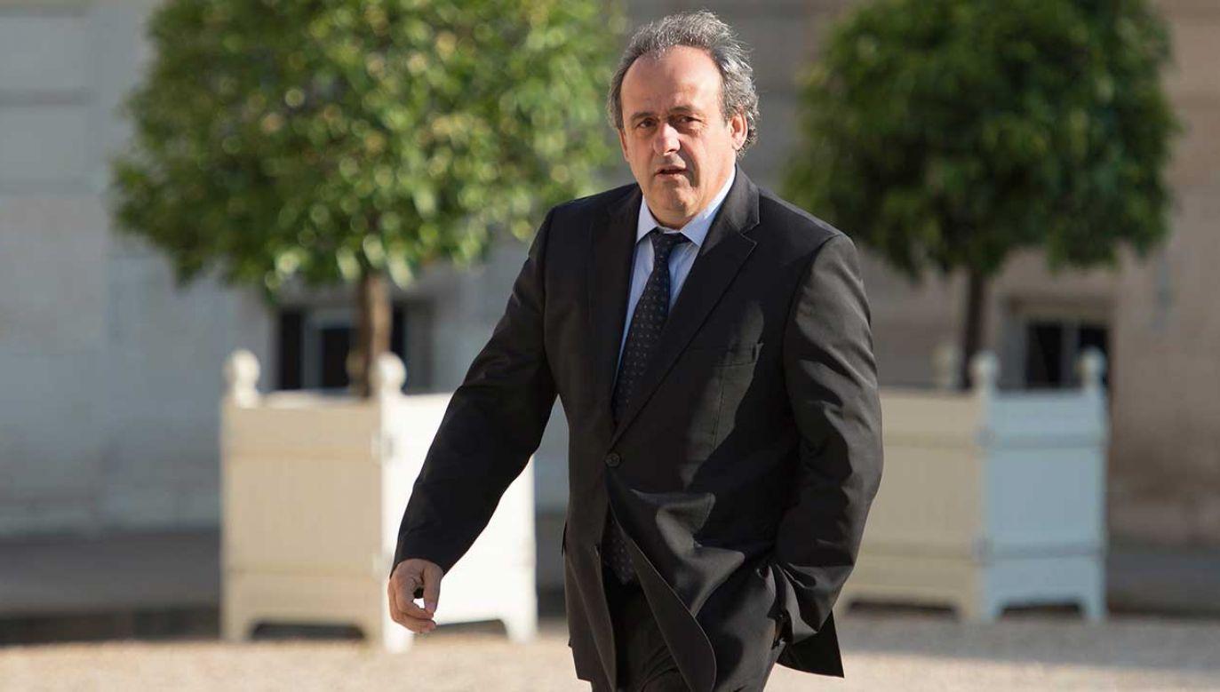 Michel Platini  (fot. Aurelien Meunier - UEFA/UEFA/Getty Images)
